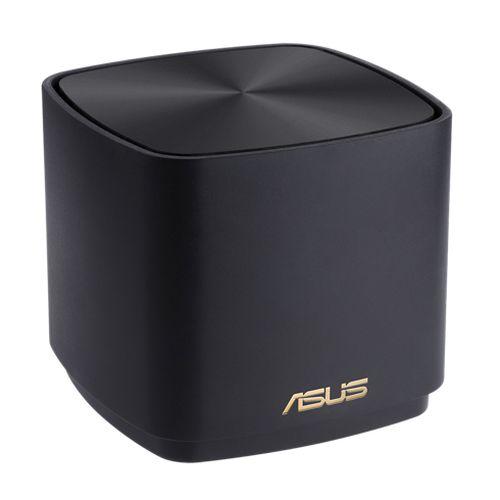 Asus (ZenWiFi AX Mini (XD4)) AX1800 Wireless Dual Band Mesh Mini System, Single, AiMesh, AiProtection, Black