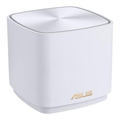Asus (ZenWiFi AX Mini (XD4)) AX1800 Wireless Dual Band Mesh Mini System, Single, AiMesh, AiProtection, White