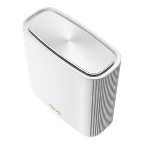 Asus (ZenWiFi AX XT8) AX6600 Wireless Tri-Band Cable Router, Single, USB 3.1 Gen1, 2.5G WAN, AiMesh Tech, White