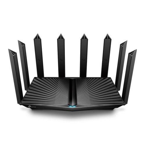 TP-LINK (Archer AX90) AX6600 Wireless Tri-Band Gigabit Router, 5-Port (1x 2.5G), OFDMA & MU-MIMO, Quad-Core CPU