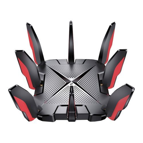TP-LINK (Archer GX90) AX6600 Wireless Tri-Band Gaming Router, 5-Port, 2.5G WAN/LAN, Game Band, Game Accelerator, Quad-Core CPU