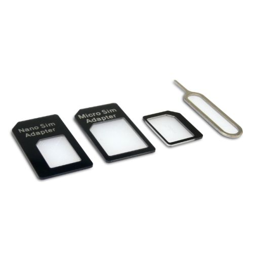 Sandberg SIM Card Adapter Kit, 4-in-1, 5 Year Warranty
