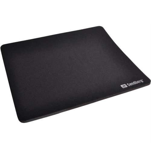 Sandberg (520-05) Mouse Pad, Black, 260 x 220 x 0.60 mm, 5 Year Warranty
