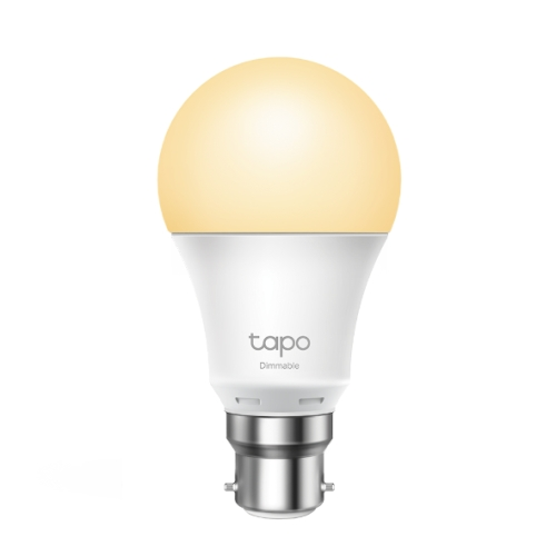 TP-LINK (L510B) Wi-Fi LED Smart Light Bulb, Dimmable, Schedule, App/Voice Control, Bayonet Fitting