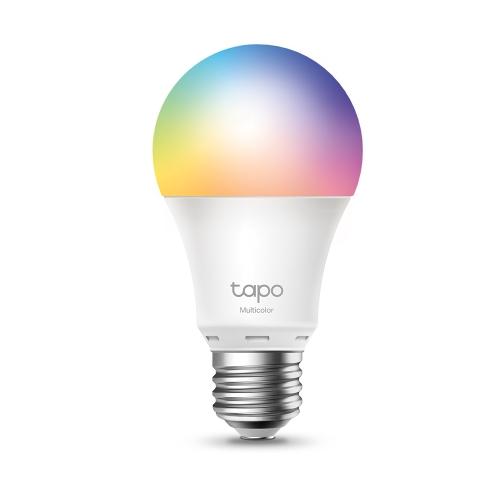 TP-LINK (Tapo L530E) Wi-Fi LED Smart Multicolour Light Bulb, Dimmable, App/Voice Control, Screw Fitting