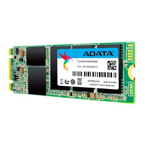 ADATA 128GB Ultimate SU800 M.2 SSD, M.2 2280, SATA3, 3D NAND, R/W 560/300 MB/s