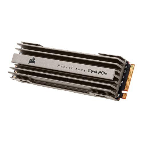 Corsair 1TB MP600 CORE M.2 NVMe SSD, M.2 2280, PCIe4, 3D TLC NAND, R/W 4700/1950 MB/s, 200K/480K IOPS