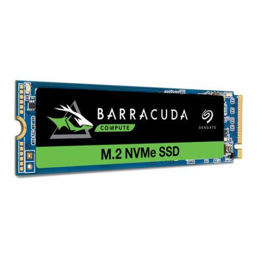 Seagate 1TB BarraCuda 510 M.2 NVMe SSD, M.2 2280, PCIe, TLC 3D NAND, R/W 3400/3000 MB/s, 600K/600K IOPS