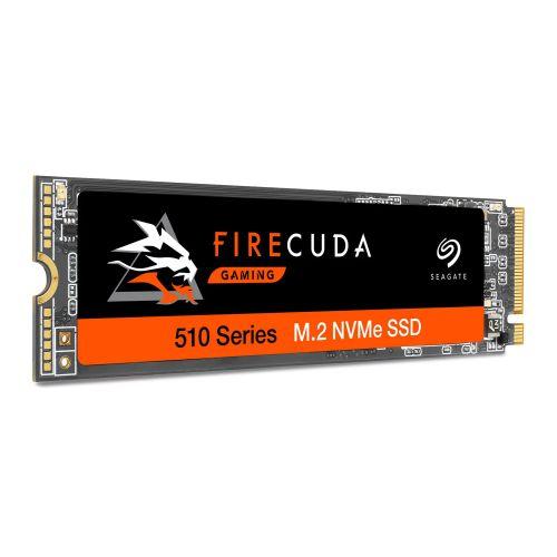 Seagate 2TB FireCuda 510 M.2 NVMe SSD, M.2 2280, PCIe, TLC 3D NAND, R/W 3450/3200 MB/s, 485K/600K IOPS, OEM