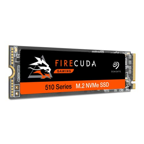 Seagate 500GB FireCuda 510 M.2 NVMe SSD, M.2 2280, PCIe, TLC 3D NAND, R/W 3450/2500 MB/s, 420K/600K IOPS, OEM
