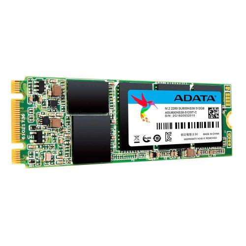 ADATA 512GB Ultimate SU800 M.2 SSD, M.2 2280, SATA3, 3D NAND, R/W 560/520 MB/s