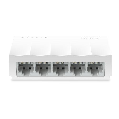 TP-LINK (LS1005) 5-Port 10/100Mbps Unmanaged Desktop LiteWave Switch, Plastic Case