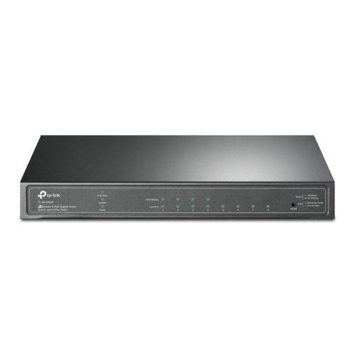 TP-LINK (TL-SG2008P) JetStream 8-Port Gigabit Smart Switch with 4-Port PoE+, Centralized Management