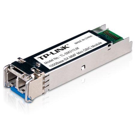 TP-LINK (TL-SM311LM) MiniGBIC Multi-Mode SFP Fiber Module, 550m, 850nm Wave