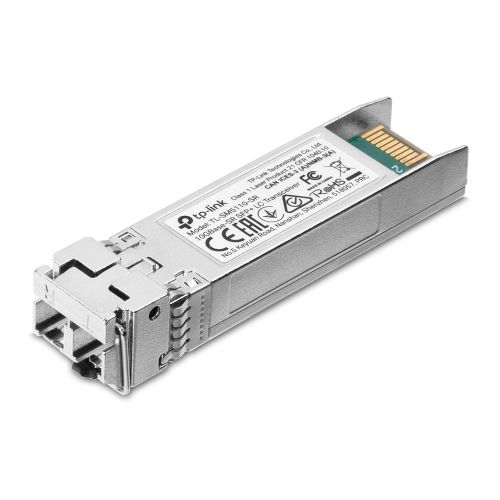 TP-LINK (TL-SM5110-SR) 10GBase-SR SFP+ LC Transceiver, Hot-Pluggable, DDM Support, 850 nm