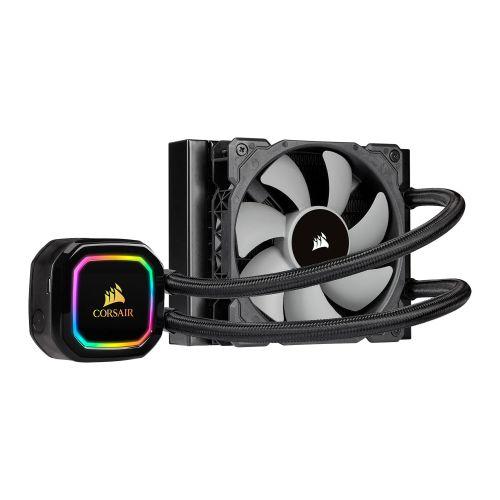 Corsair iCUE H60I RGB PRO XT 120mm RGB Liquid CPU Cooler, 1 x 12cm PWM Fans, 16 RGB LEDs