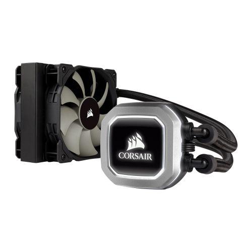 Corsair Hydro H75 120mm Liquid CPU Cooler, 2 x 12cm PWM Fans, LED Pump Head