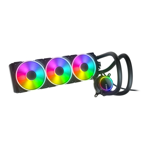Fractal Design Celsius+ S36 Prisma 360mm ARGB Liquid CPU Cooler, PWM Fan Hub, ARGB Pump, 3x Prisma AL-12 PWM ARGB Fans