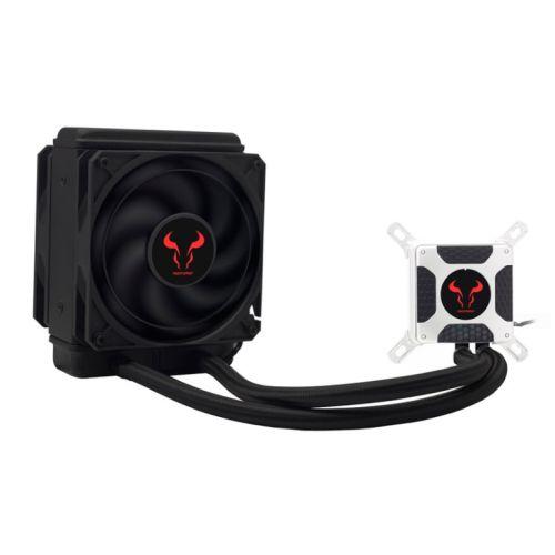 Riotoro BiFrost 120TI Liquid CPU Cooler, 120mm Radiator, 2 x 12cm PWM Fans
