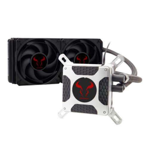 Riotoro BiFrost 240 Liquid CPU Cooler, 240mm Radiator, 2 x 12cm PWM Fans
