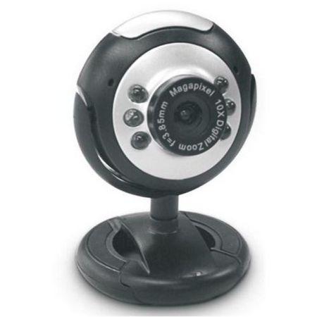 Dynamode M-1100M Webcam, 2.0MP, Mic, Snapshot Button, Blister Pack