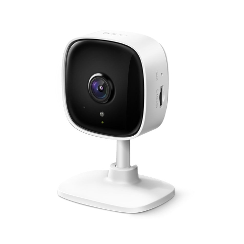 TP-LINK (TAPO C110) Home Security Wi-Fi Camera, 3MP, Night Vision, Motion Detection, Alarms, 2-way Audio, SD Card Slot