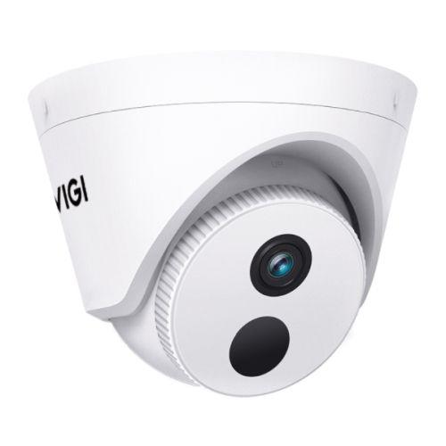 TP-LINK (VIGI C400HP-2.8) 3MP Indoor Turret Network Security Camera w/ 2.8mm Lens, PoE/12V DC, Smart Detection, Smart IR, WDR, 3D DNR, Night Vision, H.265+