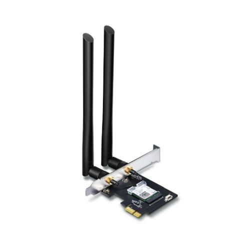 TP-LINK (Archer T5E) AC1200 (300+867) Wireless Dual Band PCI Express Adapter, Bluetooth 4.2