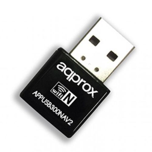 Approx (APPUSB300NAV2) 300Mbps Wireless N Nano USB Adapter, Realtek