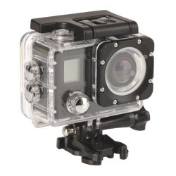 Sandberg 430-00 4K 170 Degree Action Camera, Waterproof Case, Wi-Fi, Mounting Kit, LCD Screen, 5 Year Warranty