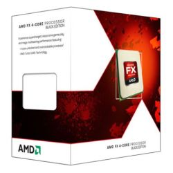 AMD FX-4300 CPU, AM3+, 95W, 3.8GHz, 8MB Cache, 32nm, Black Edition