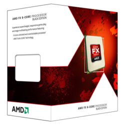 AMD FX-6300 CPU, AM3+, 3.5GHz, 6-Core, 95W, 14MB Cache, 32nm, Black Edition, No Graphics