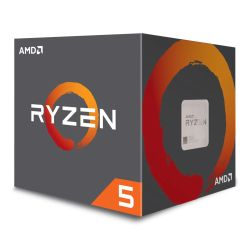 AMD Ryzen 5 2600 CPU with Wraith Cooler, AM4, 3.4GHz 3.9 Turbo, 6-Core, 65W, 19MB Cache, 12nm, No Graphics