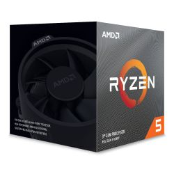AMD Ryzen 5 3600XT CPU with Wraith Spire Cooler, AM4, 3.8GHz 4.5 Turbo, 6-Core, 95W, 32MB L3 Cache, 7nm, 3rd Gen, No Graphics, Matisse