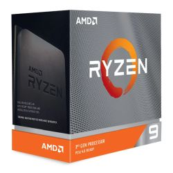 AMD Ryzen 9 3900XT CPU, 12-Core, AM4, 3.8GHz 4.7 Boost, 105W, 7nm, 3rd Gen, No Graphics, Matisse, NO HEATSINKFAN