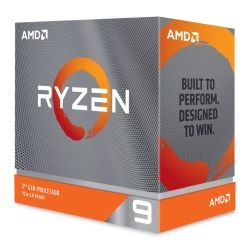 AMD Ryzen 9 3950X CPU, 16-Core, AM4, 3.5GHz 4.7 Turbo, 105W, 7nm, 3rd Gen, No Graphics, Matisse, NO HEATSINKFAN