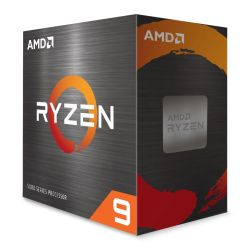 AMD Ryzen 9 5950X CPU, AM4, 3.4GHz (4.9 Turbo), 16-Core, 105W, 72MB Cache, 7nm, 5th Gen, No Graphics, NO HEATSINK/FAN