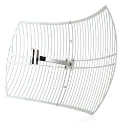 TP-LINK 2.4GHz, 24dBi Outdoor Grid Parabolic Antenna, up to 56km, N Female Connector