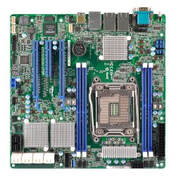 Asrock Rack EPC612D4U Server Board, Intel C612, 2011, Micro ATX, Dual GB LAN, IPMI LAN, Serial Port