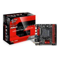 Asrock AB350 GAMING-ITX/AC, AMD B350, AM4, Mini ITX, 2 DDR4, Wi-Fi, 2 HDMI, M.2