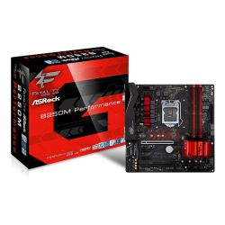 Asrock B250M PERFORMANCE, Intel B250, 1151, Micro ATX, DDR4, CrossFire, VGA, DVI, HDMI, RGB Lighting
