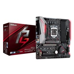 Asrock B365M PHANTOM GAMING 4, Intel B365, 1151, Micro ATX, DDR4, CrossFire, HDMI, DP, RGB Lighting, M.2
