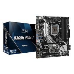 Asrock B365M PRO4-F, Intel B365, 1151, Micro ATX, 4 DDR4, CrossFire, VGA, DVI, HDMI, M.2