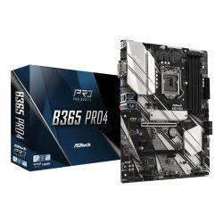 Asrock B365 PRO4, Intel B365, 1151, ATX, 4 DDR4, CrossFire, VGA, DVI, HDMI, M.2