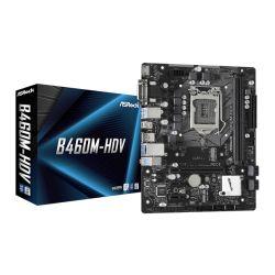 Asrock B460M-HDV, Intel B460, 1200, Micro ATX, 2 DDR4, VGA, DVI, HDMI, M.2