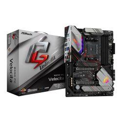 Asrock B550 PHANTOM GAMING VELOCITA, AMD B550, AM4, ATX, 4 DDR4, HDMI, XFire, 2.5GB LAN, PCIe4, RGB Lighting, M.2