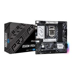 Asrock B560M PRO4, Intel B560, 1200, Micro ATX, 4 DDR4, HDMI, DP, RGB, 2x M.2