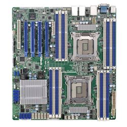 Asrock Rack EP2C602-4LD16 Server Board, Intel C602, 2011, SSI EEB, Quad GB LAN, IPMI LAN, Serial Port