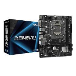Asrock H410M-HDV/M.2, Intel H410, 1200, Micro ATX, 2 DDR4, VGA, DVI, HDMI, M.2