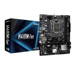 Asrock H410M/AC, Intel H410, 1200, Micro ATX, 2 DDR4, HDMI, AC Wi-Fi, M.2